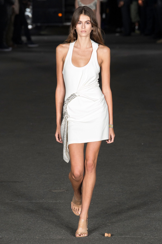 Kaia Gerber, Calvin Klein, New York, Runway