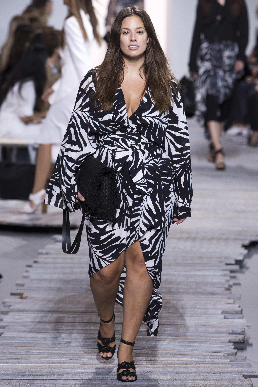Plus Size Michael Kors, New York Fashion Week