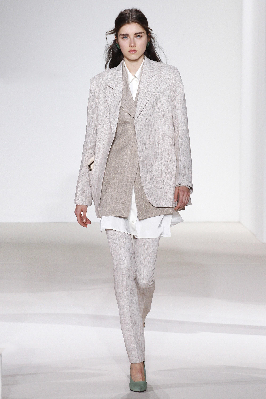 Oversized jacket, new trend, new york fashion week