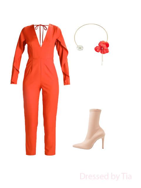 extravagant Valentine's day dress