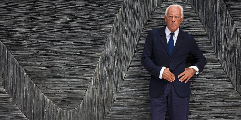 af51e0da8f0 He started his independent career at 40 Facts about Giorgio Armani