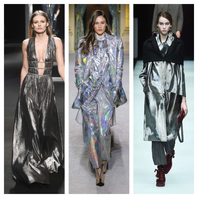 Shimmering Silver Fashion trends Fall / Winter 2018 - 2019