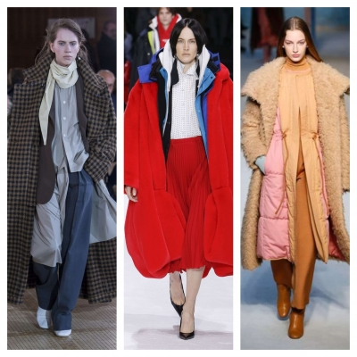 Layering Fashion trends Fall / Winter 2018 - 2019