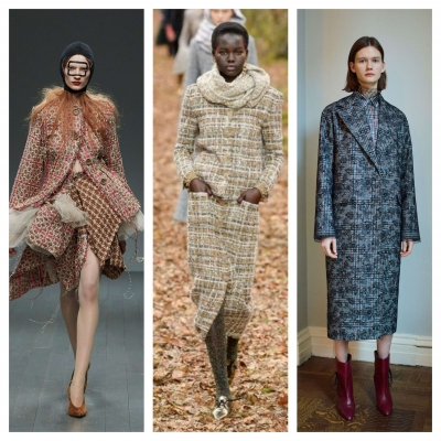 Tweed Fashion trensd Fall / Winter 2018 - 2019