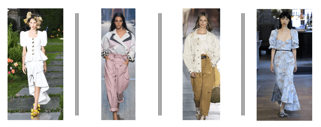 Fashion Trends from Spring/Summer 2019 jumpsuits - volume